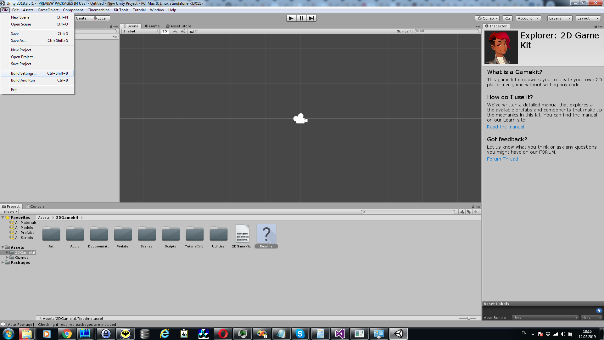How to pack an application created by a Unity 3D to a single